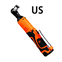 42V 90N.m 3/8'' Rechargeable Electric Cordless Ratchet Wrench Tool Set AU/US/UK/EU Plug 110 220V Plastic multitool No battery
