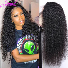 10-32inch Lace Front Human Hair Wigs 13*4 Brazilian Kinky Curly Human Hair Wig PrePlucked with Baby Hair Curly Lace Front Wig lace front human hair wigs 13 4 brazilian kinky curly human hair wig preplucked with baby hair beaudiva curly lace front wig