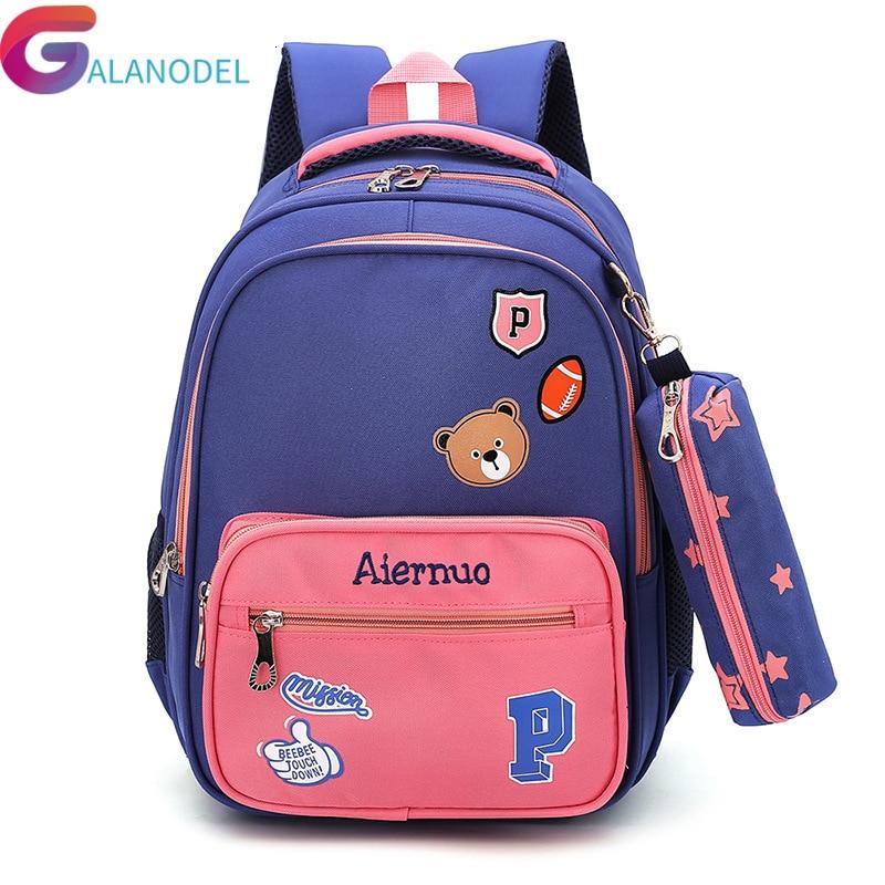 GALANODEL 2019 New Backpack Fashion Girl School Bag Waterproof Light Weight Girls Backpack Bags Printing Backpack Child