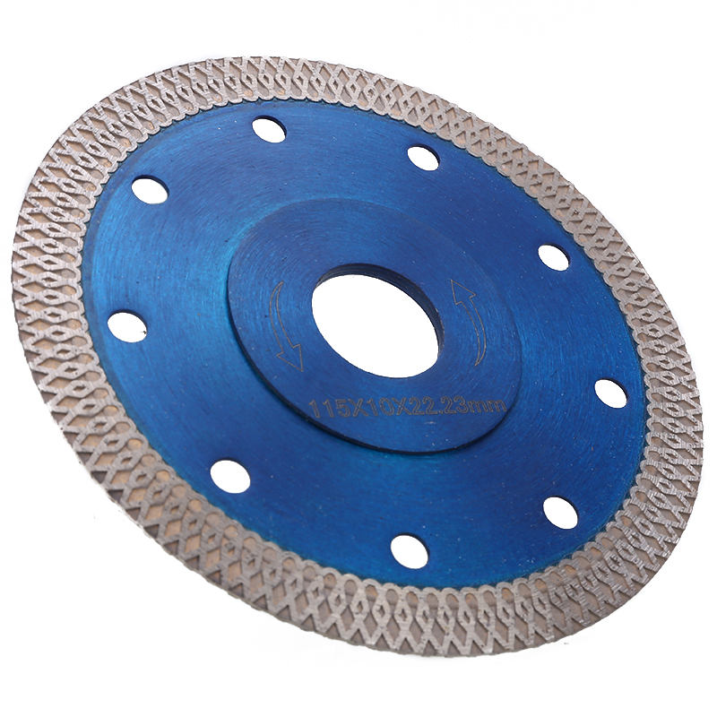 Porcelain Tile Turbo Thin Diamond Disc 115m Dry Cutting Blade//Disc Grinder Wheel