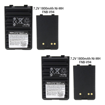 2X FNB-V94  7.2V 1800mAh Ni-MH Replacement Battery  for Two Way Radio Yaesu Vertex VX-410 VX-420 VX-420A VX-160 FT-60R FT-270 тангента для рации yaesu vx 3r ft 60r 250r mh 34 b4b