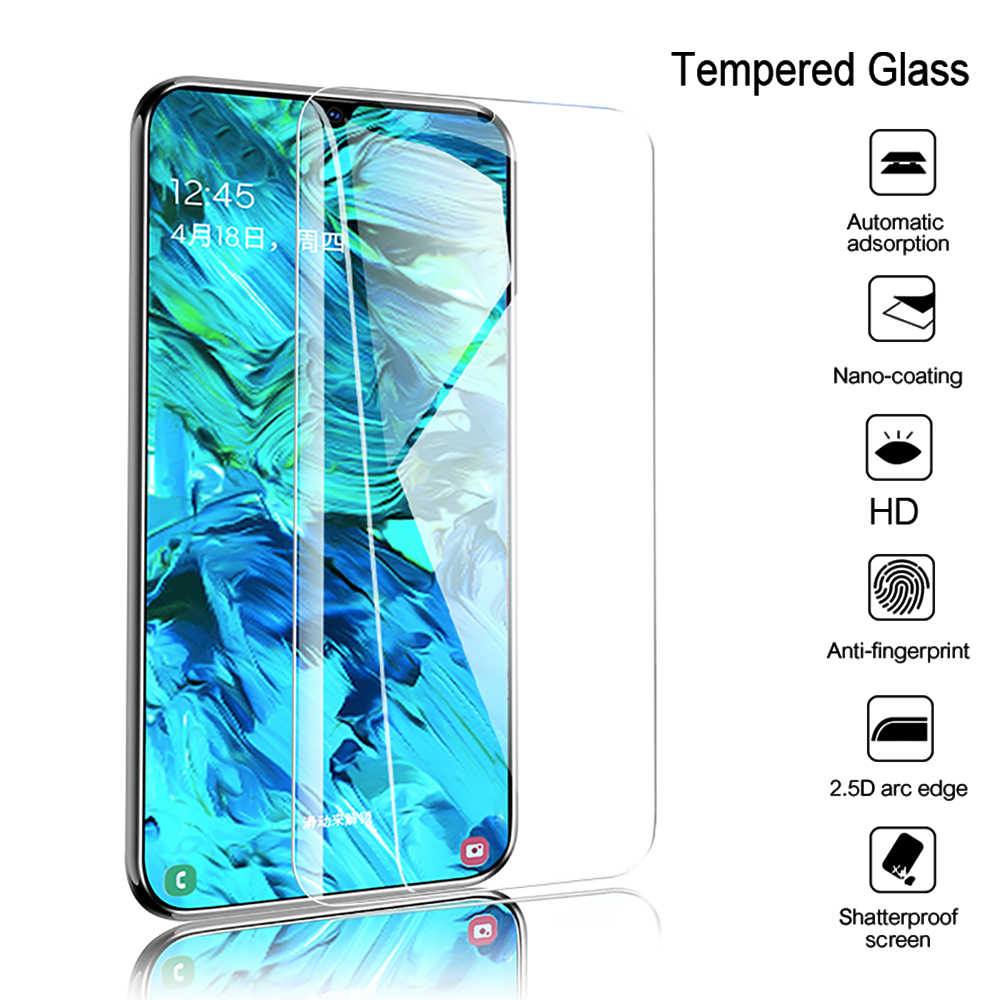 3 ב 1 מלא כיסוי מזג זכוכית עבור Huawei P30 P40 לייט P20 פרו P חכם Z 2019 מסך מגן זכוכית לכבוד 20 10 10i 8X