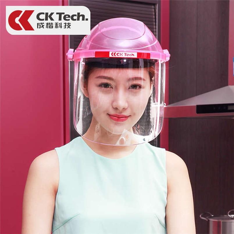 CK Tech. Защитная маска для глаз на все лицо, прозрачная защитная маска от брызг, защитный козырек, товары для защиты от ударов на рабочем месте