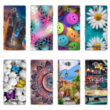 For Sony Xperia C CN3 C2304 C2305 S39 S39H Case Soft Silicone Back Cover For Sony C 2304 2305 Coque For Sony Xperia C Phone Case anunob 6 5 cover for sony xperia 10 plus case silicone painted funda soft tpu phone case for sony 10plus back cover coque