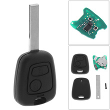 433MHz 2 Buttons Black High-Quality Remote Car Key with PCF7961 Chip and HU83 Blade Fit for Peugeot 307 Citroen 73373067C keyyou car remote control key 2 buttons 433mhz for peugeot 207 307 car keyless fob pcf7961 chip hu83 blade