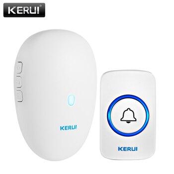 KERUI M521 Wireless Doorbell 57 Music Song 300M Waterproof Button Smart Home Door bell Chime Ring  Plug and Play - discount item  60% OFF Intercom