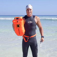 Float Swimmers Kayaker Orange Open-Water Triathletes Drybag Trainings Safer with