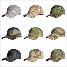 HAN WILD Outdoor czapka myśliwska czapka taktyczna Sport Snapback Stripe czapki kapelusz kamuflażowy prostota wojskowa armia Camo kapelusz Unisex