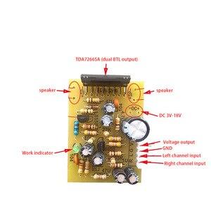 Image 3 - Lusya tablero de Radio FM estéreo TEA5711, modulación de frecuencia Digital, tablero de Radio, puerto serie, G10 012 de Radio FM DIY