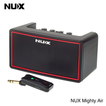 NUX Mighty Air Wireless Guitar Amplifier Portable Stereo Modeling Amplifier with Bluetooth For Acoustic Electric Guitar Speaker