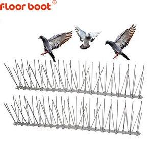 Image 1 - רצפת אתחול 1 12M ציפור repeller פלסטיק נירוסטה ציפור spikes אנטי ציפור/יונה הדברה ציפור דוחה אספקת גן