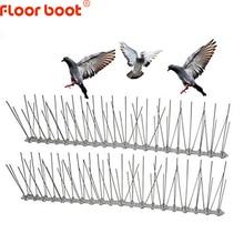 Floor boot 1 12M odstraszacz ptaków plastikowe kolce ze stali nierdzewnej przeciw ptakom/gołąb zwalczanie szkodników odstraszacz ptaków narzędzia ogrodowe
