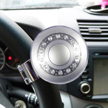 Stylish Practical Safe 360 Auto Car Steering Wheel Steel Bead Bearing Handle Control Knob Ball Booster Auto Spinner Knob Ball image