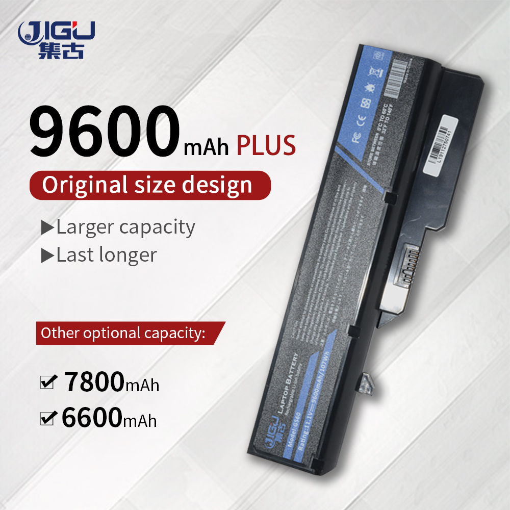 JIGU Laptop Battery For <font><b>Lenovo</b></font> IdeaPad B470 V470 B570 B570 G460 G470 G560 G570 G770 G780 V300 V360 V370 Z370 Z460 <font><b>Z560</b></font> Z570 Z470 image