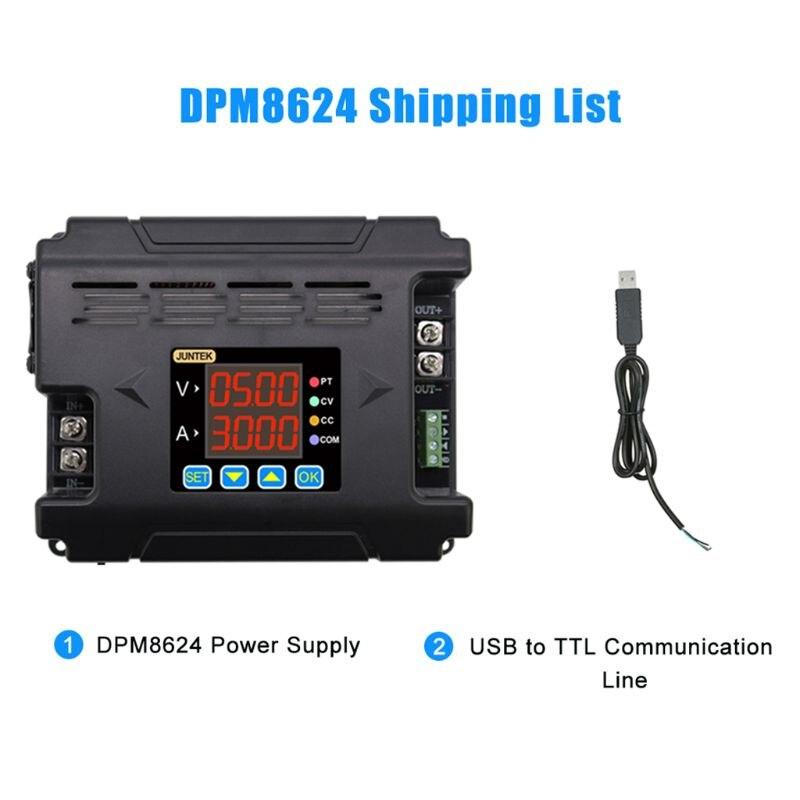 DPM8624 numérique Programmable alimentation à distance constante courant Buck Communication DC tension abaisseur 0-60V 0-24A 24BA