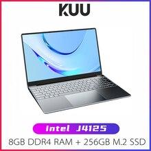 """KUU A10S Laptop 15.6"""" FHD 1920x1080 Intel Celeron J4125 8GB DDR4 RAM 256GB M.2 SSD Windows 10 Intel Ultra HD Graphics 600"""