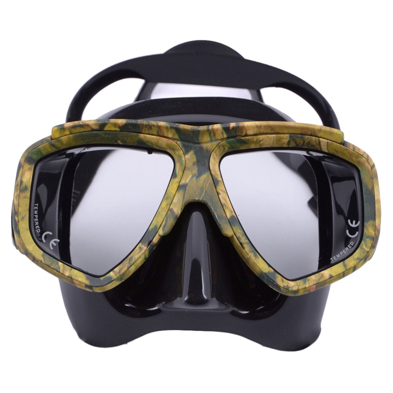 TOP!-Professional Myopia Scuba Diving Mask Anti Fog Swimming Masks Googles