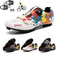 Кроссовки для горных велосипедов Мужская обувь шоссейных спортивные