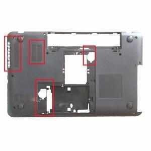 Image 5 - Yeni kılıf kapak Toshiba Satellite L850 L855 C850 C855 C855D olmadan Palmrest kapak touchpad/dizüstü alt taban vaka kapak