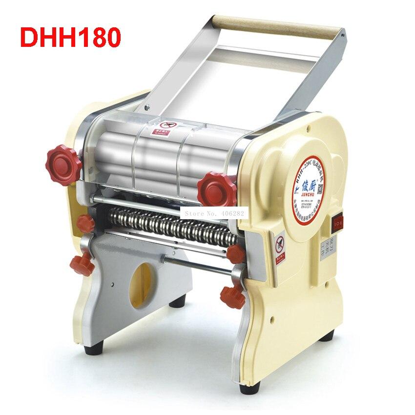 DHH180 edelstahl elektrische haushalts pasta drücken maschine Ganmian mechanismus kommerziellen Elektrische Nudel Makers 110V/ 220V