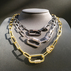 S925 collier en argent Sterling marque de luxe bijoux de mode collier pour femmes noir doré femme collier bulgare Banquet