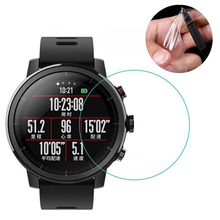 Soft TPU Hydrogel Film Full Screen Cover Protector for Xiaomi Huami Amazfit Pace Stratos Verge Lite Smart Watch Protective Guard