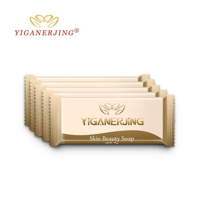10PCS YIGANERJING Sulfur Soap Skin Conditions Acne Psoriasis Seborrhea Eczema Anti Fungus Bath whitening soap Psoriasis Cream 4
