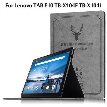 Чехол для Lenovo TAB E10 TB X104 TB-X104F TB-X104L 10,1 защитный чехол для планшета Lenovo TAB E10 10,1 чехол для планшета