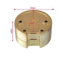 1PC Dental Lab Plated Copper Alloy FLASK Plaster Denture Press Compress Box On Removable Acrylic Partial Denture Work