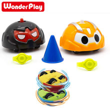 Battle Gyro Car Spinning Tops Battle Toys, Spinning Toy Car Spinning Top Fun and Learning for Children Gifts magic prophetic spinning top die toy black white