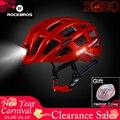 ROCKBROS Велосипед ультра светильник шлем светильник велосипедный шлем, ультра-лёгкий, безопасный 57-62 см Горный Дорожный велосипед MTB шлемы