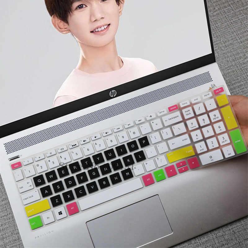 Für HP Envy x360 mit AMD Ryzen 5 2700U 2500U 15-bq101na 15 15,6 zoll Silikon Laptop Tastatur Abdeckung Haut Schutz schutz