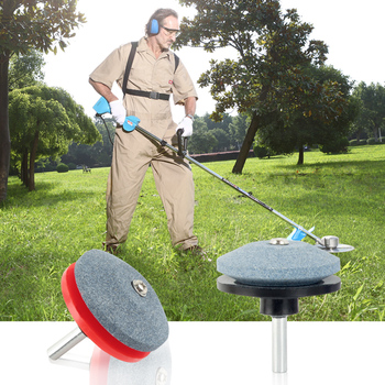 Lawn Mower Trimmer Head Garden Grass Trimming Machine Brush Cutter for Lawn Mower  Drill Blade Sharpener Accessories Tool @