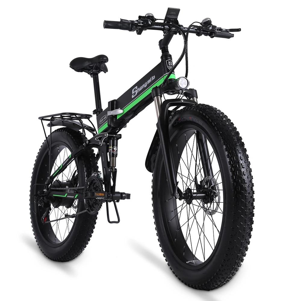 Electric Bike 1000W Mens Mountain Bike Snow Bike Folding Ebike MX01 Adult Electric  Bicycle Fat Tire e Bike 48V Lithium Battery|Electric Bicycle| - AliExpress