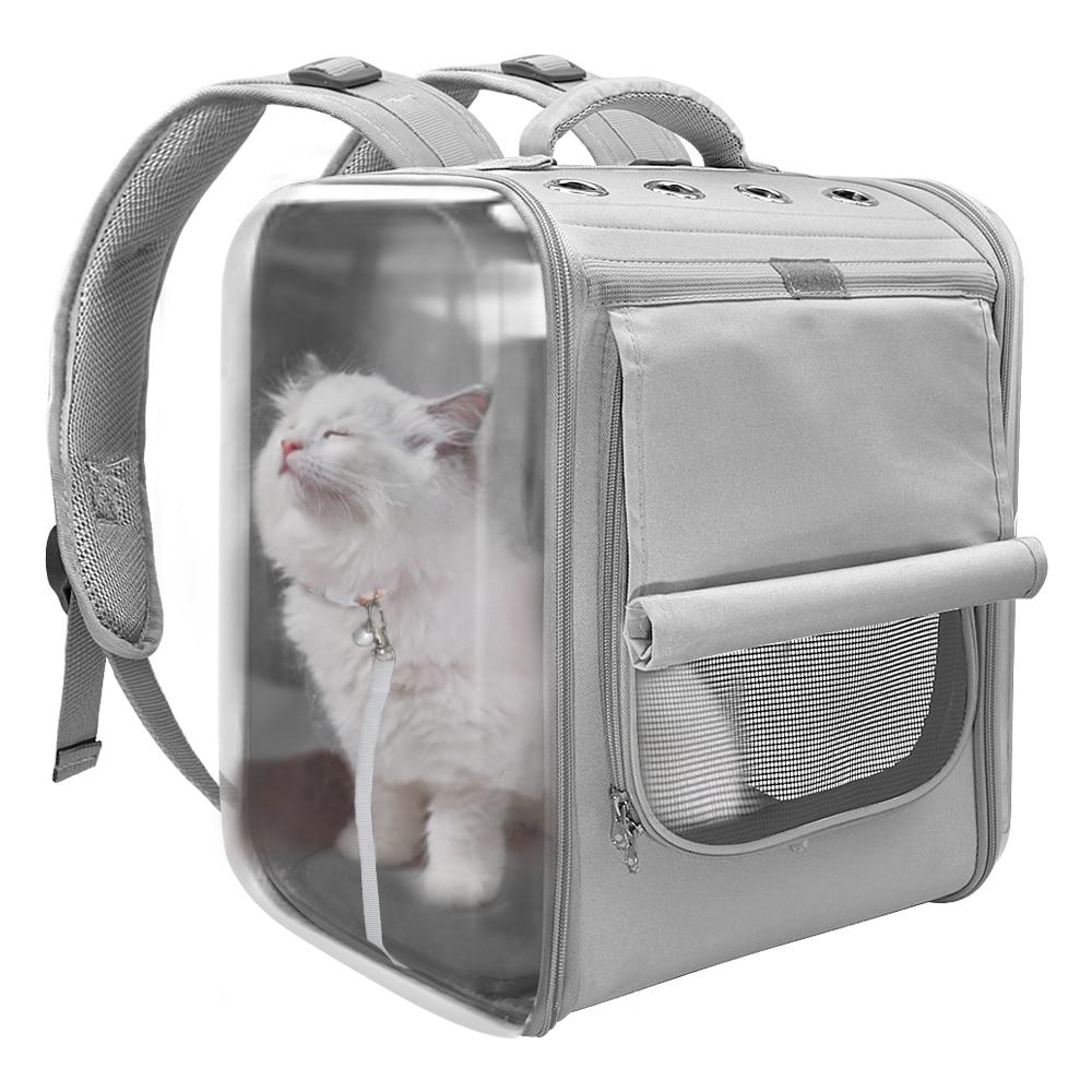 Şeffaf kedi çantası