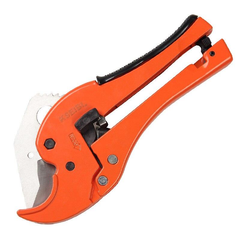 Pipe Cutter Sharp Scissors PVC/PPR Plastic Pipe Scissors Plastic Hose Pipe Cutter Pipe Shears Factory Direct Selling