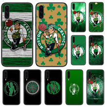 CELTICS BOSTON 3 cassa Del Telefono Per Samsung Galaxy UN 5 10 20 30 40 50 51 7 70 71 E S 4G 16 17 18 nero shell arte torna pittura funda(China)
