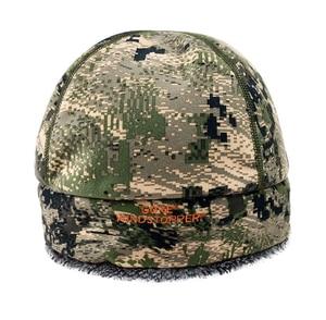 Image 4 - 2020 Winter Hat Men Sitka Hunting Beanie Camouflage Warmest Windstopper Primaloft Soft Fur SITKA Cap Man Sports Thermal One Size