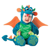 Halloween Baby's Clothes High Quality Cute Boys Girls Party Dinosaur Costume Romper Kid Clothing Set Toddler Cosplay Triceratops