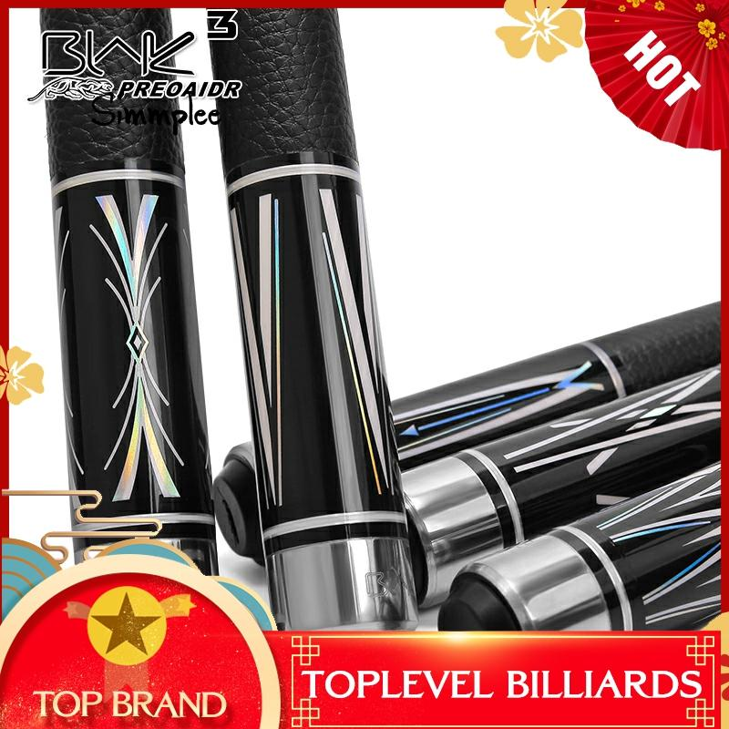 PREOAIDR 3142 BLAK Pool Billiard Cue Stick 13mm 11.5mm 10mm Tip With Extension Professional Pool Cue Billiard Cue Made In China