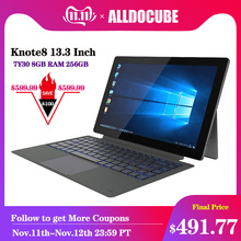 ALLDOCUBE Knote8 13 3 Inch 2 IN 1 Tablet PC Full View 2560x1440 IPS Windows10 intel