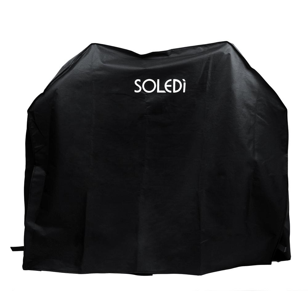 Rainproof Black BBQ Gas Grill Cover Heavy Duty Waterproof Barbecue Gas Grill Cover Outdoor Fade Resistant Weather Protection
