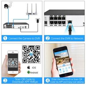 Image 5 - MISECU 8CH 1080P POE güvenlik CCTV sistemi IP kamera 2.8mm 12mm motorlu otomatik zoom objektifi P2P ONVIF gece görüş gözetim kiti