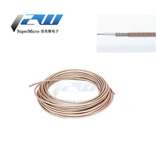 RG178 Coaxial Cable Low Lead Loss RF Adapter Cable 50 Ohm Extension Bridge Cable RG178