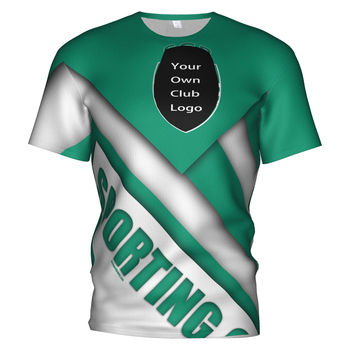 Sporting Lisbon Portugal Soccer Jersey 2018 2019 Football 3d T Shirt Club Sweatshirt T-shirts