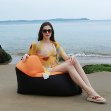 Portable Inflatable Lounger Air Sofa Hammock WaterProof  Anti-Air Leaking Couch for Backyard Lakeside Beach Traveling Camping