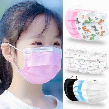 Dziecko maska medyczna jednorazowe włókniny 3 warstwy warstwy maska z filtrem maska ochronna na twarz filtr bezpieczne oddychające ochronne maska chirurgiczna tanie i dobre opinie NoEnName_Null 20182142581 Jeden raz Chin kontynentalnych Osobiste 50 100Pcs non woven 14 5*9 5CM mascherine chirurgiche