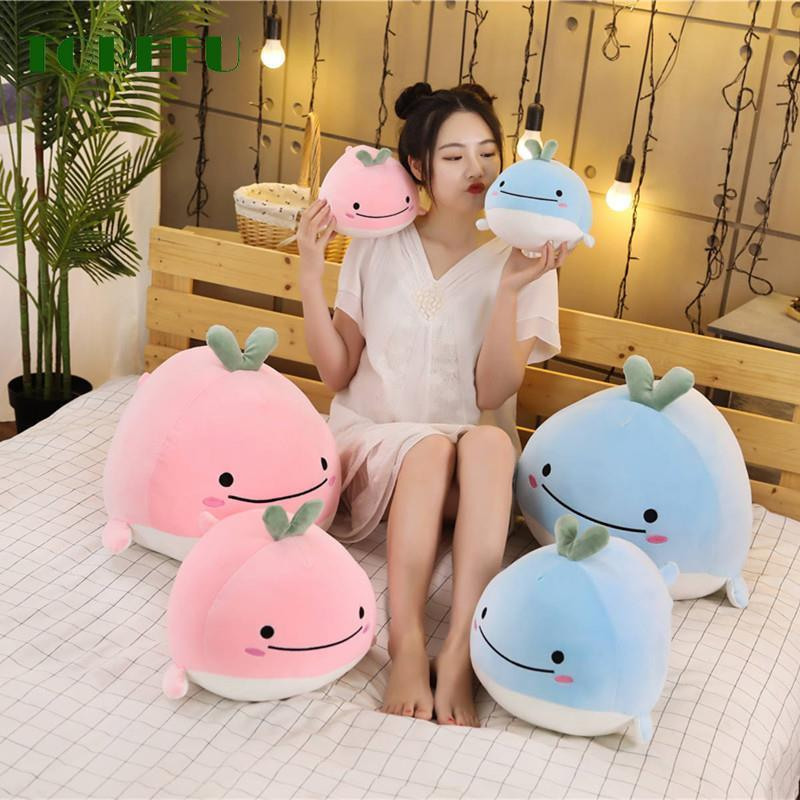 15CM Cute Down Cotton Whale Plush Toy Super Soft Dolphin Pillow Stuffed Doll High Quality Aquatic Creatures Kids Birthday Gifts