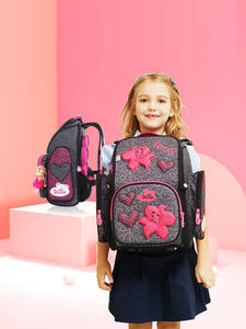 Delune Backpack Primary-Mochila School-Bags Girls Children Boys Cartoon for Flower-Pattern