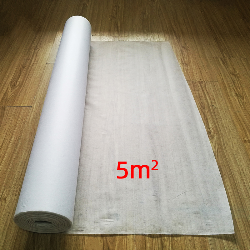 500cm * 100cm Free Shipping Non-woven Fabric For Electric Underfloor Heating System Moisture-Proof Prote